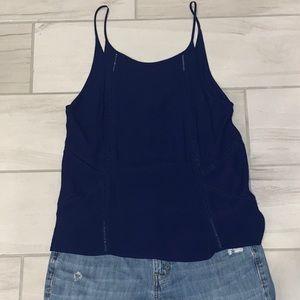 Hurley navy blue top